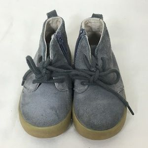 GAP Gray Toddler Suede Boots